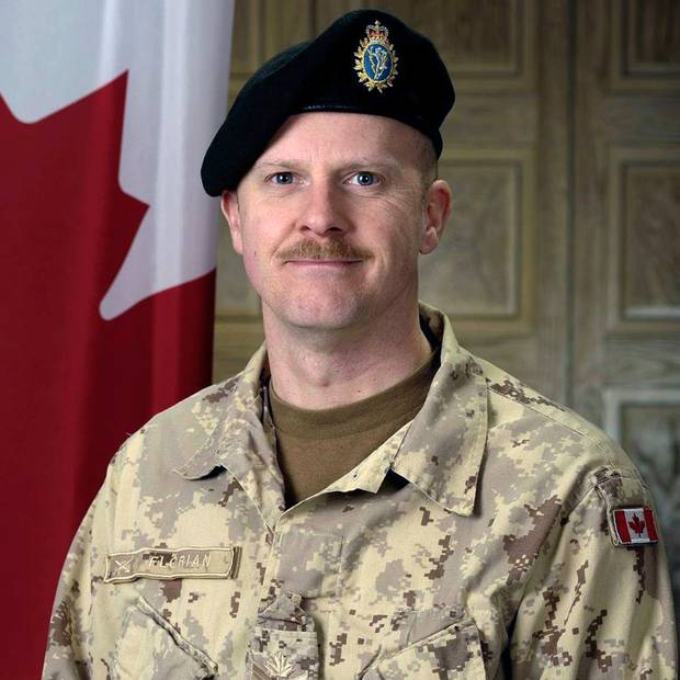 Warrant Officer Charles Florian served in a bomb-defusing unit during his final Afghanistan tour.