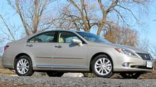 2012 Lexus ES 350 (Bob English for The Globe and Mail/Bob English for The Globe and Mail)