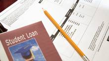 student loan book, forms (Jupiterimages)