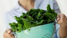 Leafy greens are a good food source of magnesium. (Thinkstock)