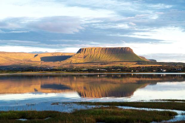 One of W.B. Yeats's his final poems was Under Ben Bulben, about the limestone ridge that rises in Sligo County.