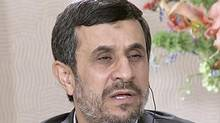 Iranian President Mahmoud Ahmadinejad spoke to The Associated Press in a wide-ranging interview on the sidelines of the UN General Assembly – his last as president of Iran. (AP)