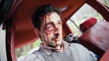 I've been better: Adrien Brody in a scene from Wrecked.