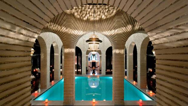 The Espace Vitalite Chenot spa is the only one outside of Europe. It uses an east-west mix of Chinese medicine and modern methods and is set in a luxe, traditional Turkish Hammam.