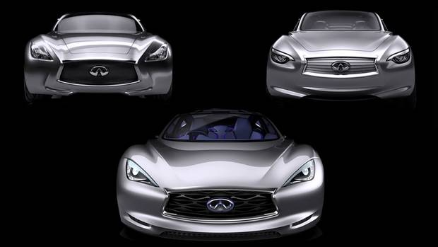 Infiniti EMERG-E Design Sketch. (Nissan)