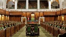 The House of Commons sits empty on Parliament Hill in 2006. (CHRIS WATTIE/REUTERS)