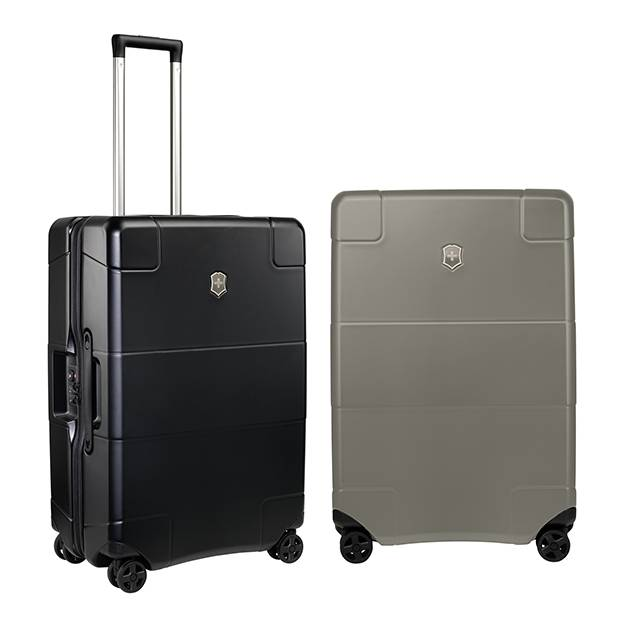 Lexicon carry-on luggage, by Victorinox.