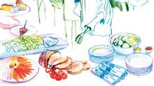 Buffet bliss (Agnes Decourchelle for The Globe and Mail)