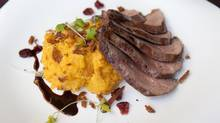 Deconstructed Duck Breast with Squash Mash (Deborah Baic/The Globe and Mail)