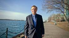 Robert Francis Kennedy, Jr. is seen along the Toronto waterfront on February 8, 2012. (JENNIFER ROBERTS FOR THE GLOBE AND MAIL)