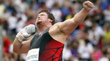 Canada's Dylan Armstrong (Andrew Medichini/Associated Press)