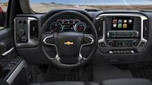Inside the 2014 Chevrolet Silverado: this is not your grandfather's pickup. (General Motors)