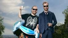 Tom Berninger, left, and his brother, Matt. in Los Angeles (Deirdre O Callaghan)
