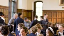The dining experience at Bishop's College School in Lennoxville, Que. (Courtesy Bishop's College School)