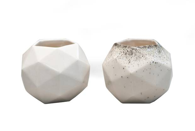 Pentakis Vessel by Kristen Lim Tung, $60 at MADE (madedesign.goodsie.com).