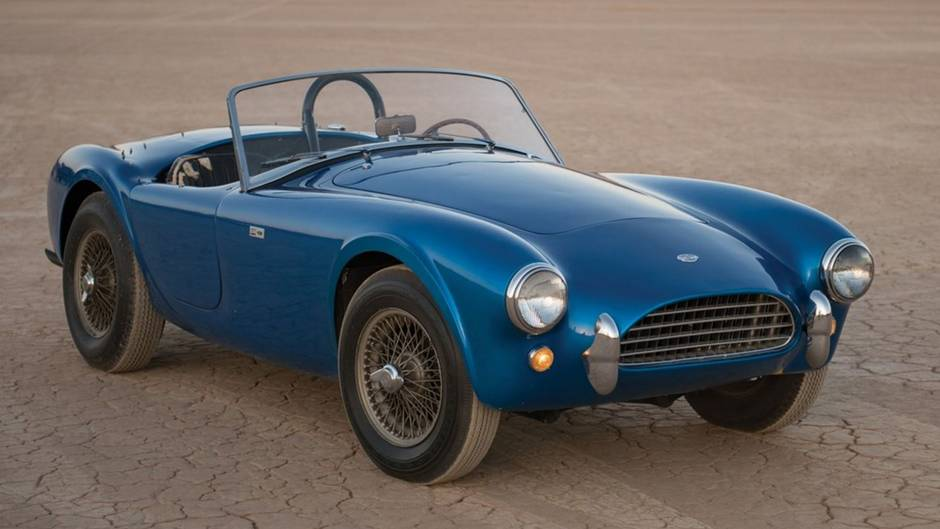 First Shelby Cobra sells for $17.7-million, priciest American car ...