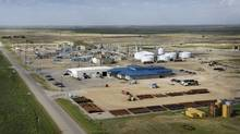 The Cenovus Weyburn Enhanced Oil Recovery. Research commissioned by Cenovus Energy Inc. has found carbon dioxide injected into the company's oilfield in Weyburn, Sask., is staying put in the ground and is not seeping into a nearby farm. (Cenovus Energy/Cenovus Energy)