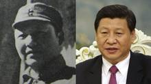 Xi Xinping and his father, Xi Zhongxun: Three East Asian leaders have territorial grandstanding and family baggage in common (Associated Press)