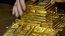 After bottoming out last month, gold has recently outperformed the S&P/TSX composite and the S&P 500 index. (AP)