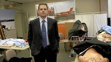 Dr. Chris Mazza, former CEO of Ornge, a company that provides emergency helicopter service in Ontario, poses at the training room of the company's headquarters in Toronto on Oct. 27, 2008. (Fernando Morales/The Globe and Mail/Fernando Morales/The Globe and Mail)