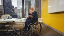 'Everybody has value to offer. We live in a global world. People come from different backgrounds, each with a unique perspective that should be respected and valued,' says Mubina Mawani, the lead of the inclusion and diversity portfolio for Accenture Canada, a consulting firm headquartered in Toronto. (Jennifer Roberts for The Globe and Mail)