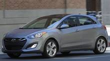The Elantra GT is roomier than the sedan, but 230 mm shorter. (Morgan J Segal/Hyundai)