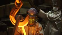 Wabi Iron and Steel of New Liskeard, Ont., is focusing on innovation and geographic diversification to cope with the high dollar and weak U.S. economy. (Fred Lum/The Globe and Mail)