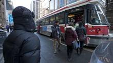 Toronto Mayor Rob Ford says streetcars need to be phased out. (Deborah Baic/The Globe and Mail)
