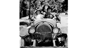 The cast of TV's The Beverly Hillbillies (File photo, May 19, 1967).