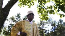 Lawyer Miguna Miguna, originally from Kenya, has written a tell-all book about the current Kenyan government. (Peter Power/The Globe and Mail)