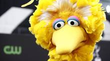 Big Bird, a character on the children's television show Sesame Street. (Matt Sayles/Associated Press)