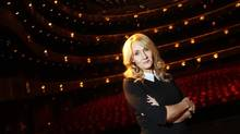 "Author J.K. Rowling poses for a portrait while publicizing her adult fiction book ""The Casual Vacancy"" at Lincoln Center in New York October 16, 2012. (CARLO ALLEGRI/REUTERS)"