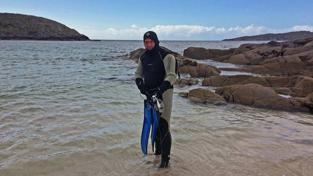The piercing cold of the Scottish North Atlantic offers snorkellers a chilling alternative to the typical Caribbean-style dive.