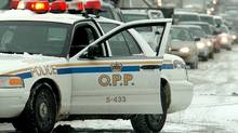 OPP cruiser. (J.P. Moczulski/J.P. Moczulski/The Globe and Mail)