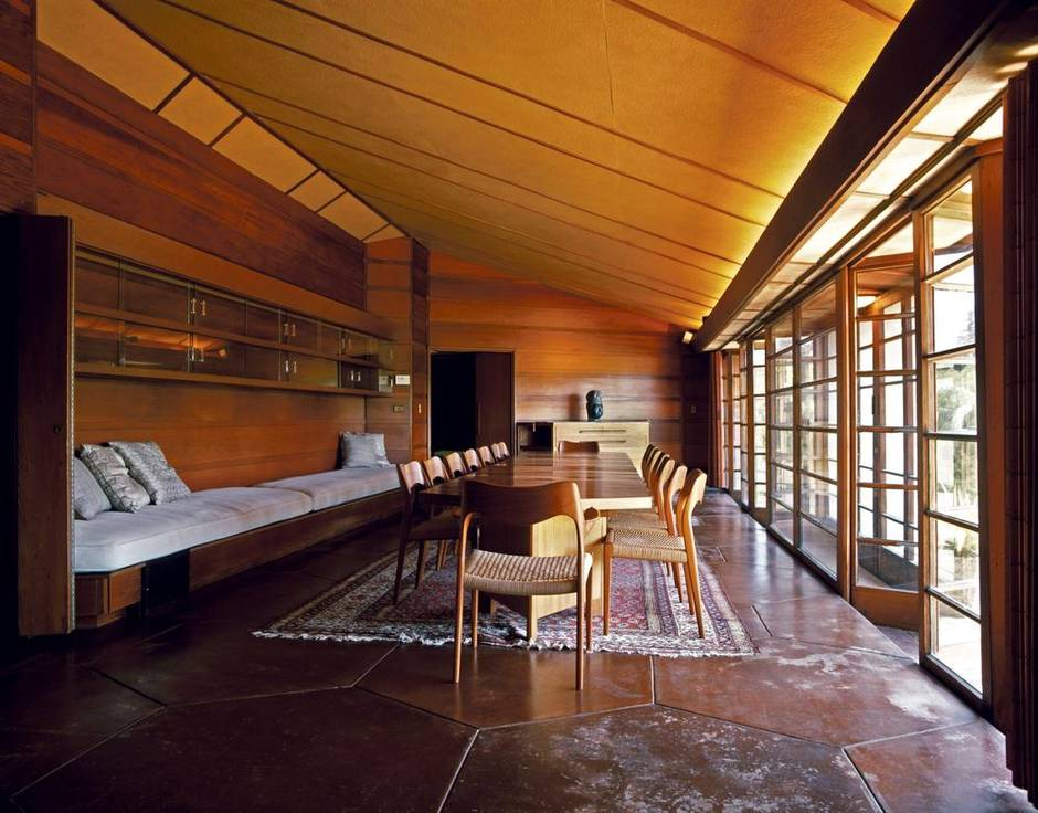 Let's eat. Frank Lloyd Wright's appreciation ...