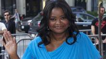"Octavia Spencer arrives for the gala presentation of the film ""Smashed"" at the 37th Toronto International Film Festival, September 12, 2012. (Reuters)"