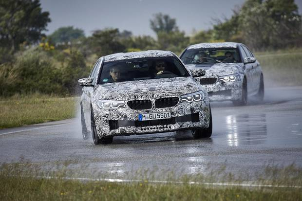 BMW isn't providing an exact power figure yet, but the M5 is devastatingly fast.
