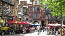Medieval meets modern in Rennes, one of France's fastest-growing cities, and home to two major universities and a large student population. (Dean Jobb/Dean Jobb)