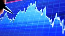 File #: 8373881 Stock chart Market Analyze on lcd screen pen pointing at a business graph Credit: iStockphoto (Royalty-Free) Keywords: Graph, Moving Down, Stock Market Data, Financial Occupation, Stock Market, Chart, Moving Up, Finance (iStockphoto)