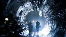 A tunnel at Cameco's Cigar Lake uranium mine in northern Saskatchewan