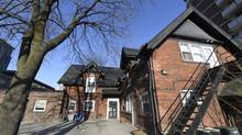 With a hospital scheduled to be built, this coach house at 119 Isabella St. does not fit into Casey House's redevelopment plans. As a result, it's being offered for free to anyone who can move it from its current location near Jarvis St. and Isabella St. (Fred Lum/Fred Lum/The Globe and Mail)
