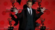 Host Neil Patrick Harris performs a musical number at the 65th Primetime Emmy Awards in Los Angeles September 22, 2013. (MIKE BLAKE/REUTERS)