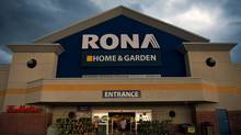 Fierce competition and prudent consumers have floored Rona Inc.'s profits. (Galit Rodan/The Globe and Mail)