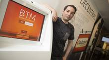 'It's the technology behind bitcoin that's amazing, not the bitcoin itself,' says Anthony Di Iorio, founder of the Bitcoin Alliance of Canada. (Peter Power for The Globe and Mail)