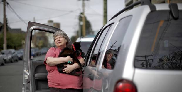 Noreen Begoray of Victoria, B.C., lived in her car for nearly a year.