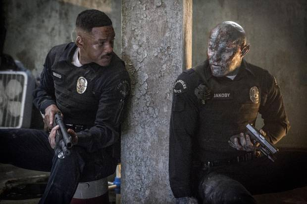 Bright is littered with F-bombs, gratuitous nudity and intense violence. These elements, coupled with the film's bizarre premise and plot, made it a movie other studios wouldn't touch, given it's price tag.