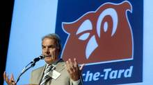 File photo of Alain Bouchard, the chief executive officer of Alimentation Couche-Tard Inc. (CHRISTINNE MUSCHI/REUTERS)