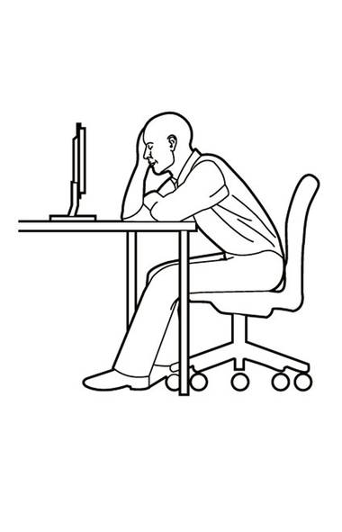 Attention, desk jockeys: All that sitting can impede your circulation. Get the blood flowing even when you're stuck in your chair. (Trish McAlaster)