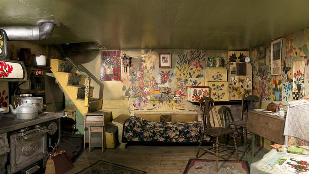 "Maud Lewis turned the single ground-floor room of her house into her studio, her showroom, and her ""canvas."""