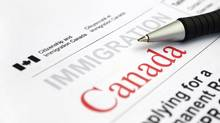 A visa Appication form from Citizenship and Immigration Canada. (iStockPhoto/Getty)